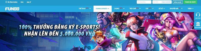 thuong-dang-ky-100-tai-fun88-e-sports